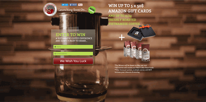 Farmers Blend Coffee Contest