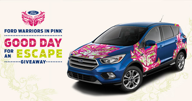 Ford Warriors In Pink 2017 Giveaway