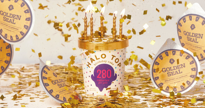 Halo Top Golden Seal Sweepstakes