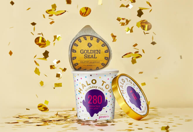 halo top ice cream golden seal