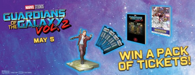 Guardians of the Galaxy Vol. 2 IMAX Sweepstakes