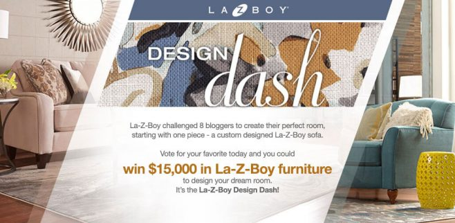 La-Z-Boy Design Dash 2017 Sweepstakes