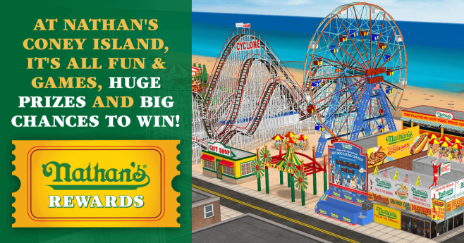Nathan's Famous Rewards Promotion