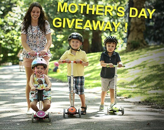 Globber Mother's Day Scooter Giveaway