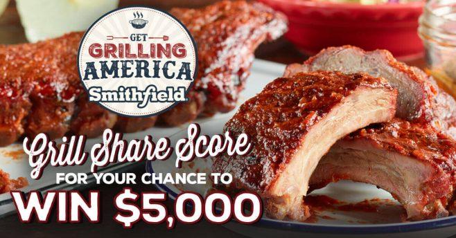 Smithfield Get Grilling America Promotion