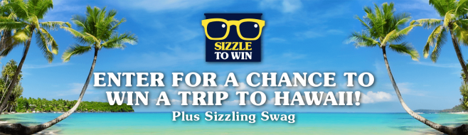 SPAM Brand Sizzle To Win Promotion