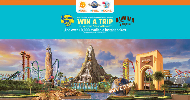 Sun. Fun. Done. Sweepstakes and Instant Win Game (SunFunDone.com)
