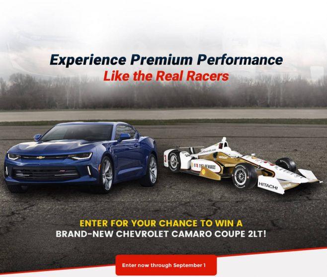 Team Penske Chevy Camaro Contest