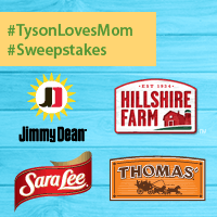 Tyson Mother's Day Sweepstakes