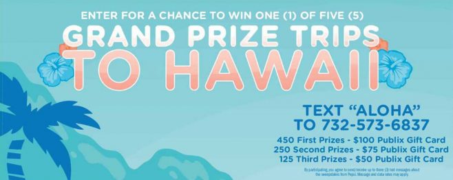 Aquafina Say Aloha Sweepstakes