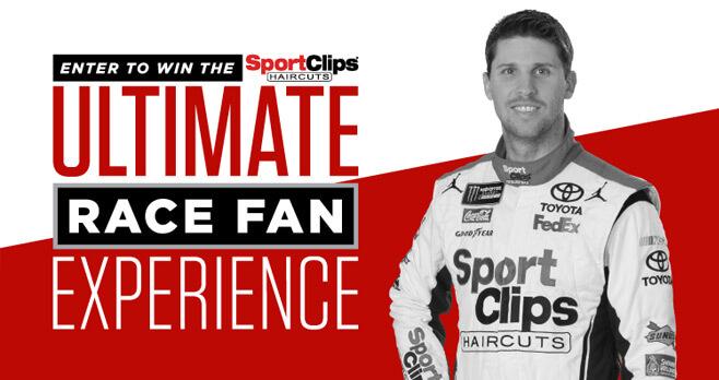 Sport Clips Ultimate Race Fan Experience Sweepstakes (Darlington)
