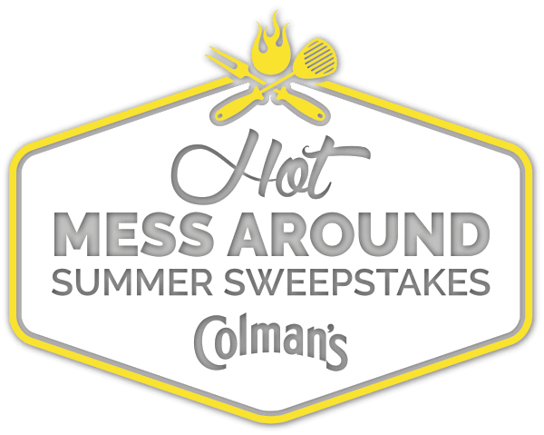 Colman's Mustard Hot Mess Around Summer Sweepstakes