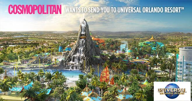 Cosmopolitan Universal Orlando Resort Summer Sweepstakes