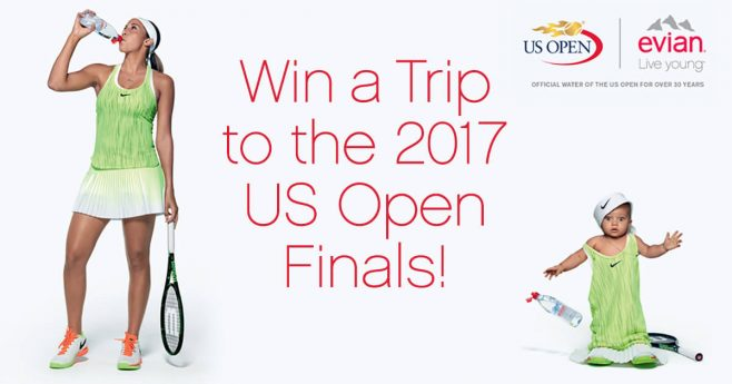 evian US Open Sweepstakes