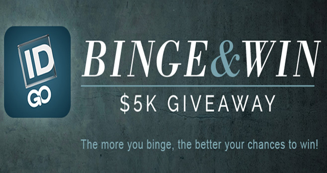 Investigation Discovery Binge And Win Sweepstakes