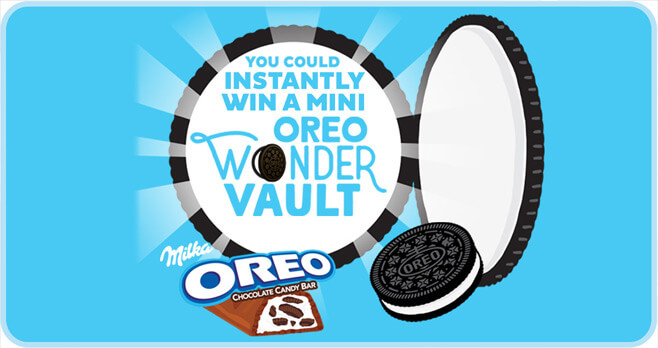 OREO Wonder Vault Promotion
