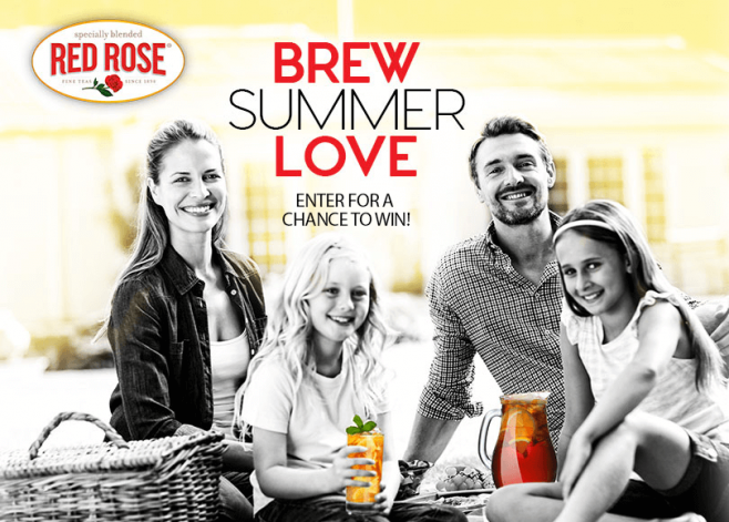 Red Rose Brew Summer Love Promotion
