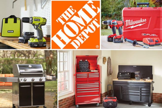 Ryan Seacrest's Home Depot Father's Day Sweepstakes