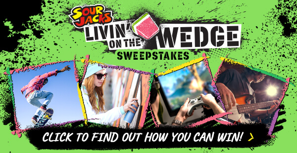 Sour Jacks Livin' on the Wedge Sweepstakes