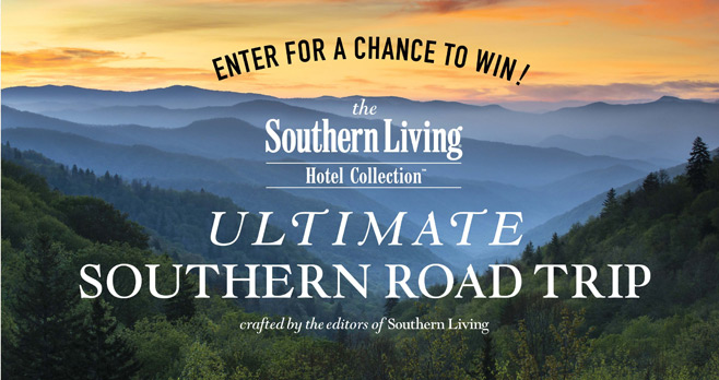 Southern Living Road Trip Sweepstakes
