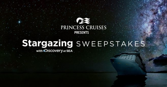 Princess Cruises Stargazing With Discovery At Sea Sweepstakes