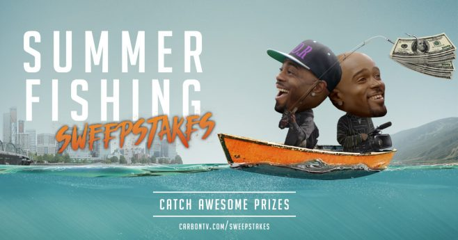 CarbonTV Summer Fishing Sweepstakes