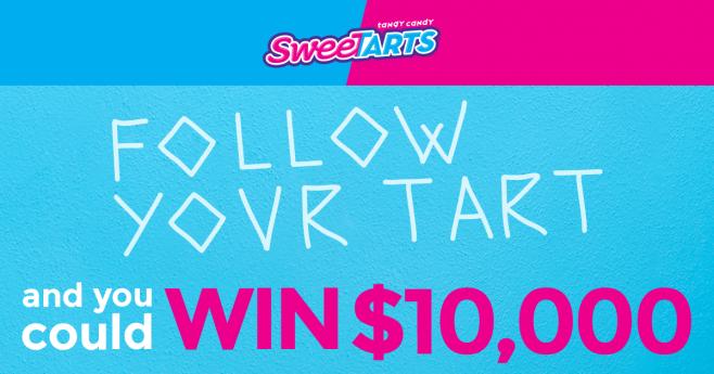 SweeTARTS Follow Your Tart Promotion