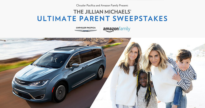 Jillian Michaels Ultimate Parent Sweepstakes