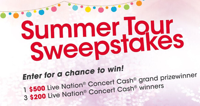 Valpak Summer Tour Sweepstakes