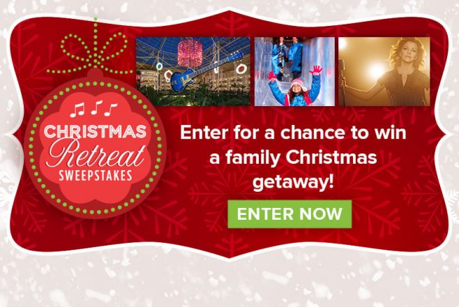 Hallmark Channel Christmas Retreat Sweepstakes