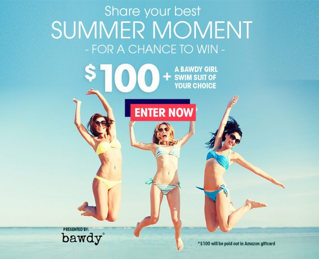 Bawdy Share Your Best Summer Moment Giveaway