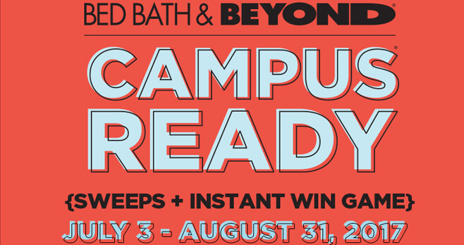 Bed Bath & Beyond College Sweepstakes
