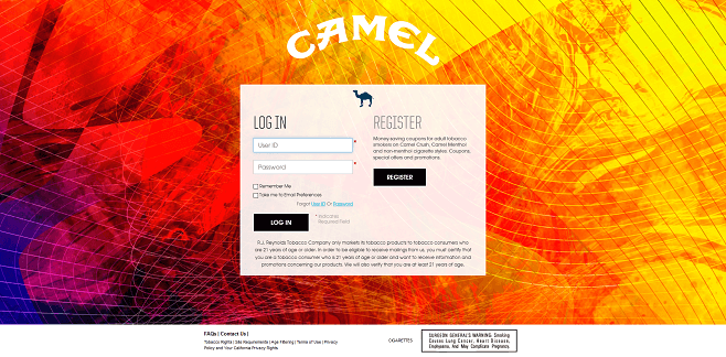 Camel Open Sound Instant Win And Sweepstakes