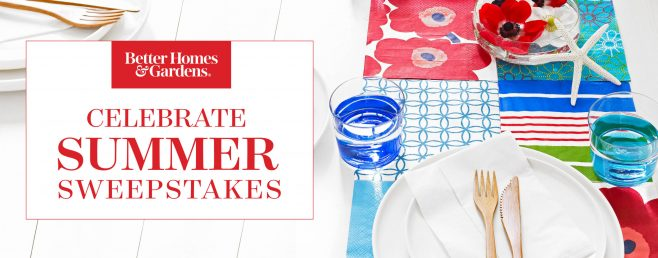 BHG Celebrate Summer Sweepstakes