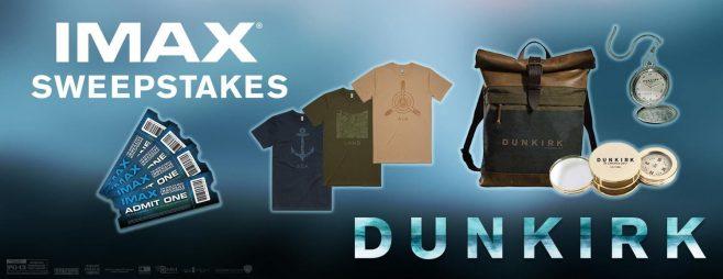 Dunkirk IMAX Sweepstakes