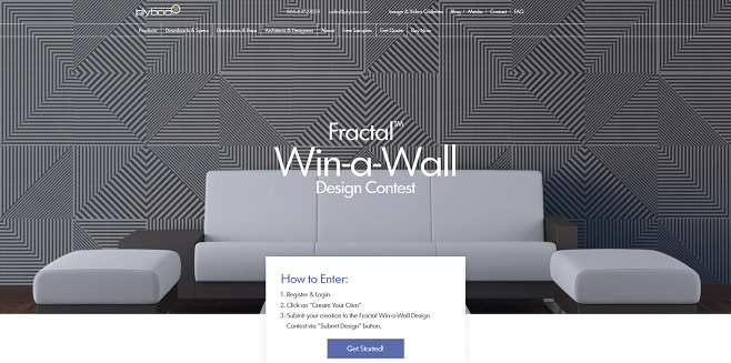 Fractal Win-a-Wall Design Contest