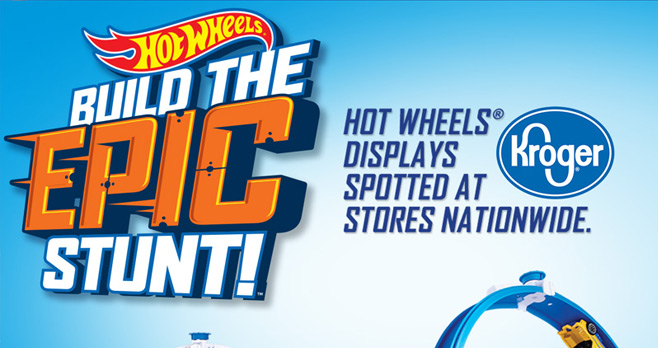 Hot Wheels Build The Epic Stunt Sweepstakes