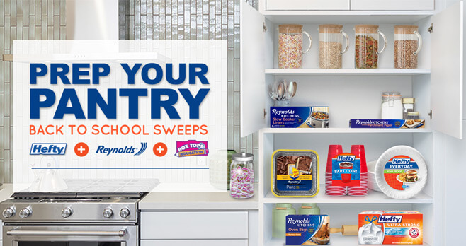 Prep Your Pantry Back to School Sweepstakes