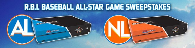 R.B.I. Baseball All-Star Game Sweepstakes