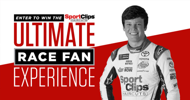 Sport Clips Ultimate Race Fan Experience Sweepstakes (Texas)
