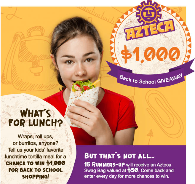 Azteca Back to School Sweepstakes