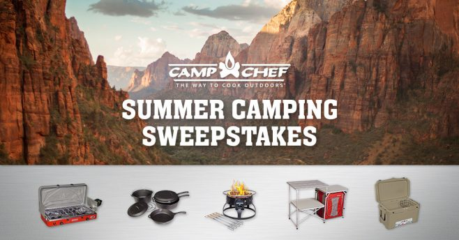 Camp Chef Summer Camping Sweepstakes