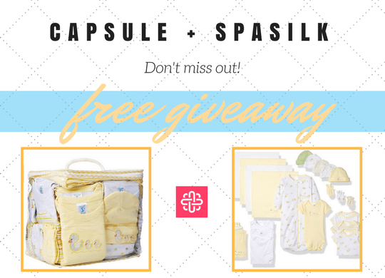 SpaSilk Free 23 Piece Essential Layette Gift Set Giveaway