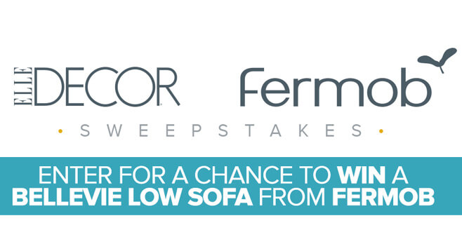 ELLE Decor Fermob Sweepstakes