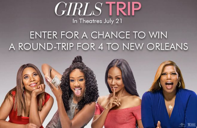 Cinemark Girls Trip to New Orleans Sweepstakes