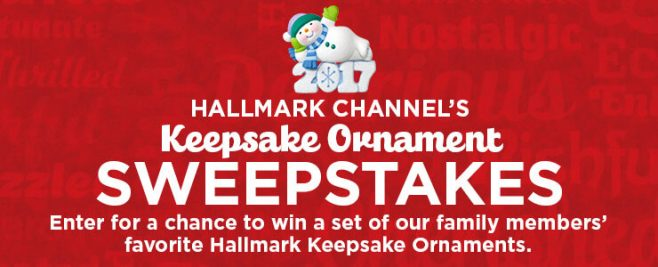 allmark Channel Keepsake Ornament Giveaway