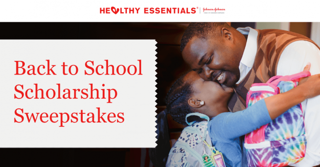 Healthy Essentials Program, Back to School Sweepstakes