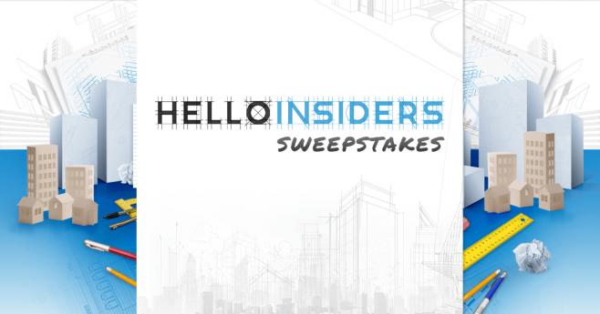 HelloInsiders Sweepstakes
