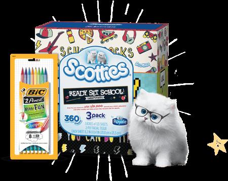 Scotties Ready Set School Sweepstakes Package