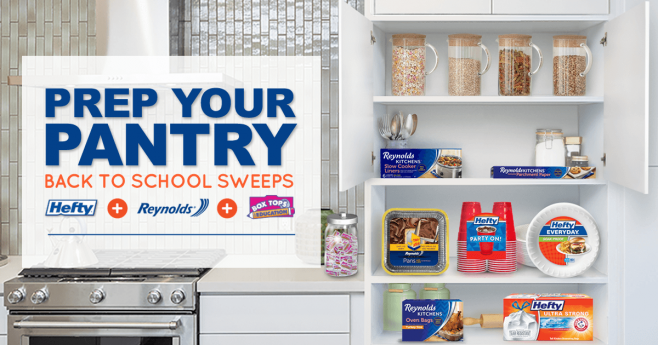 Reynolds Prep Your Pantry Back to School Sweeps